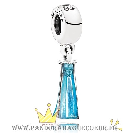 Femme Style Pandora Pandora Disney Collection Disney Perles D'Elsa Dangle Charm Mixed Enamel