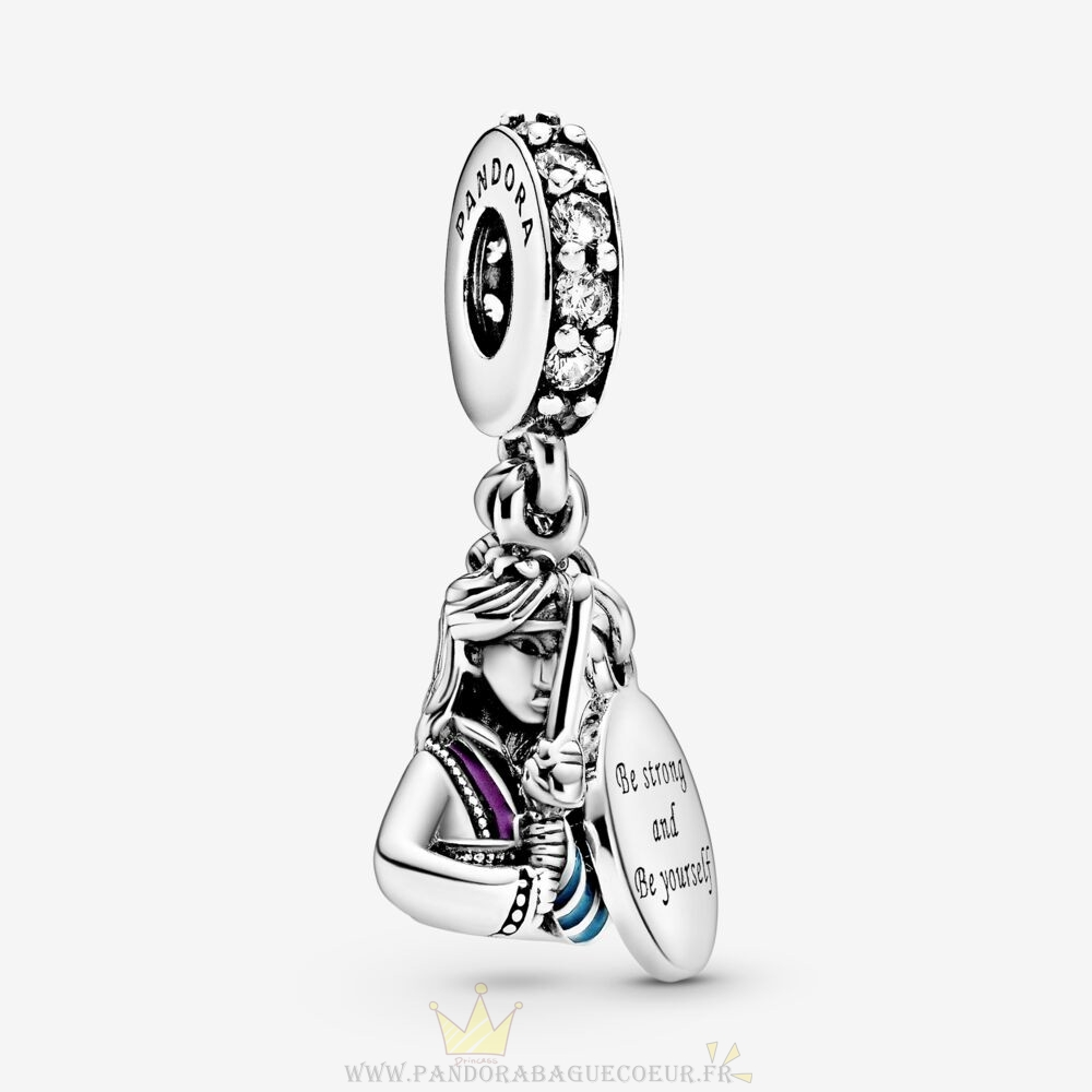 Femme Style Pandora Breloque Disney Mulan Dangle