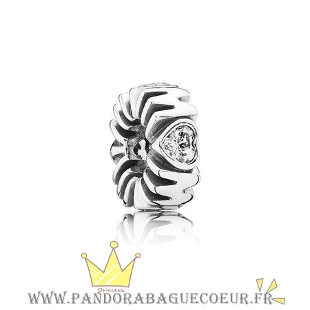 Femme Style Pandora Pandora Entretoises Charms Mother'S Pride Spacer Clear Cz