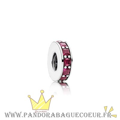 Femme Style Pandora Pandora Espaceurs Charms Eternity Spacer Synthetic Ruby