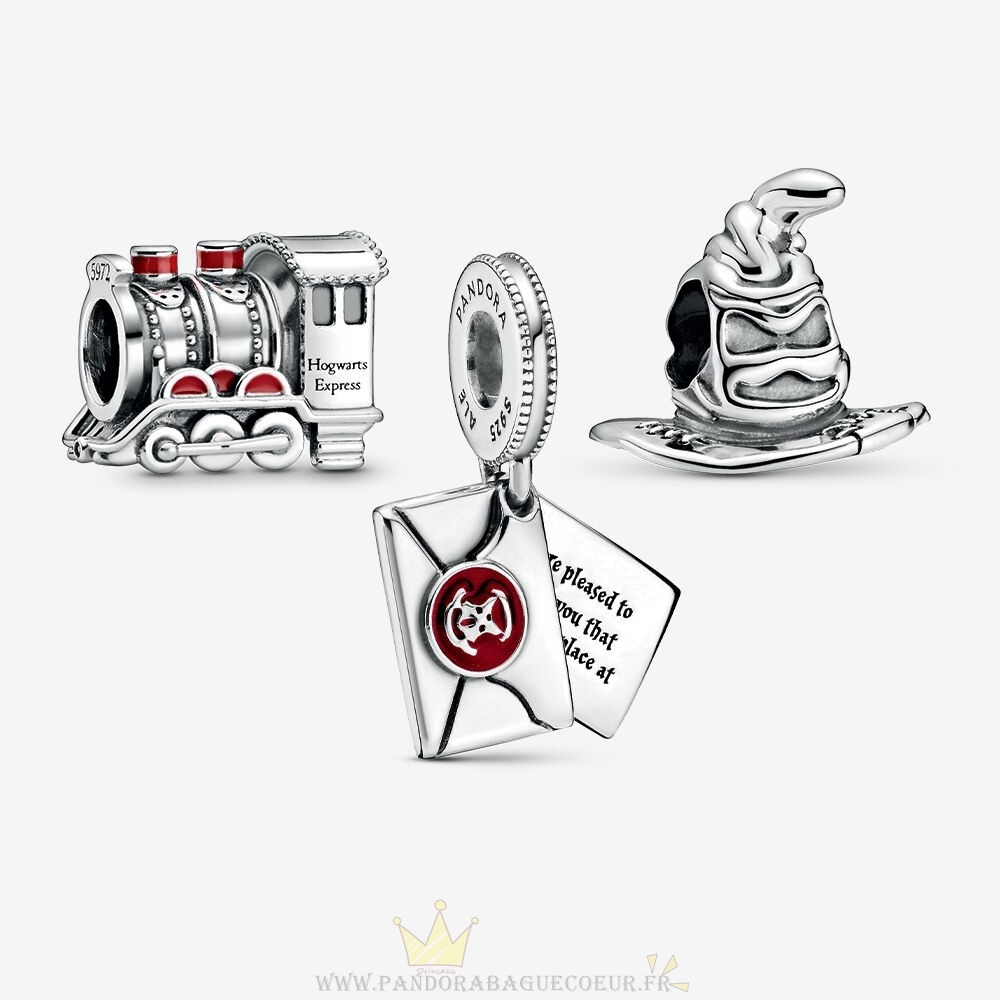 Femme Style Pandora Harry Potter Journey To Poudlard Charm Pack