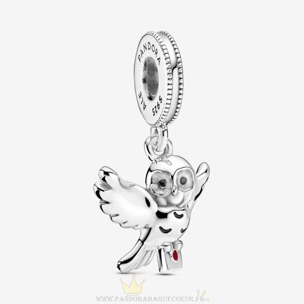 Femme Style Pandora Harry Potter, Hedwig Owl Dangle Charm