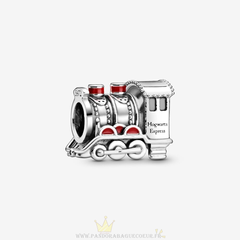 Femme Style Pandora Harry Potter, Poudlard Express Train Charme