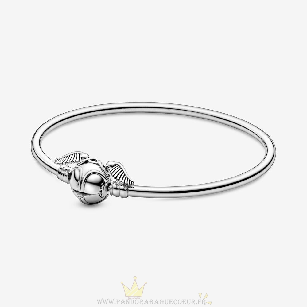 Femme Style Pandora Pandora Des Moments Harry Potter, Fermoir Mousqueton Doré Bracelets