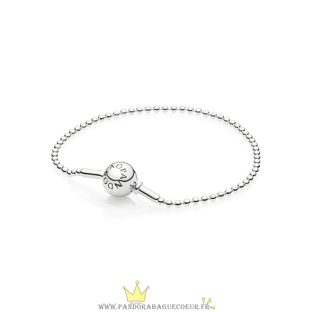 Femme Style Pandora Essence Collection Beaded Bracelets En Sterling Argent